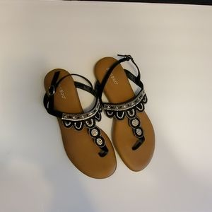Bamboo Beaded Sandles